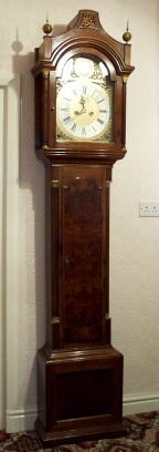 image,a grandfather clock C1750,James Green London