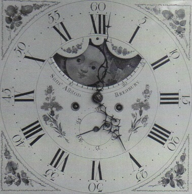 image,an early white dial