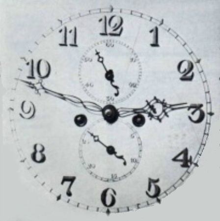 image,a second middle period dial