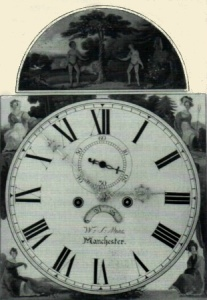 image,a black and white late dial