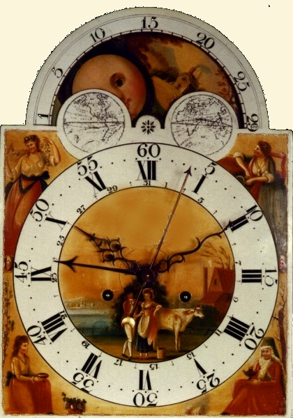 image,a very late dial in colour